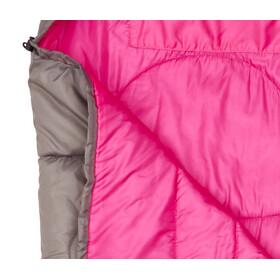 CAMPZ Astro Sleeping Bag Barn grey/pink